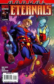 Eternals, Jack Kirby komiks