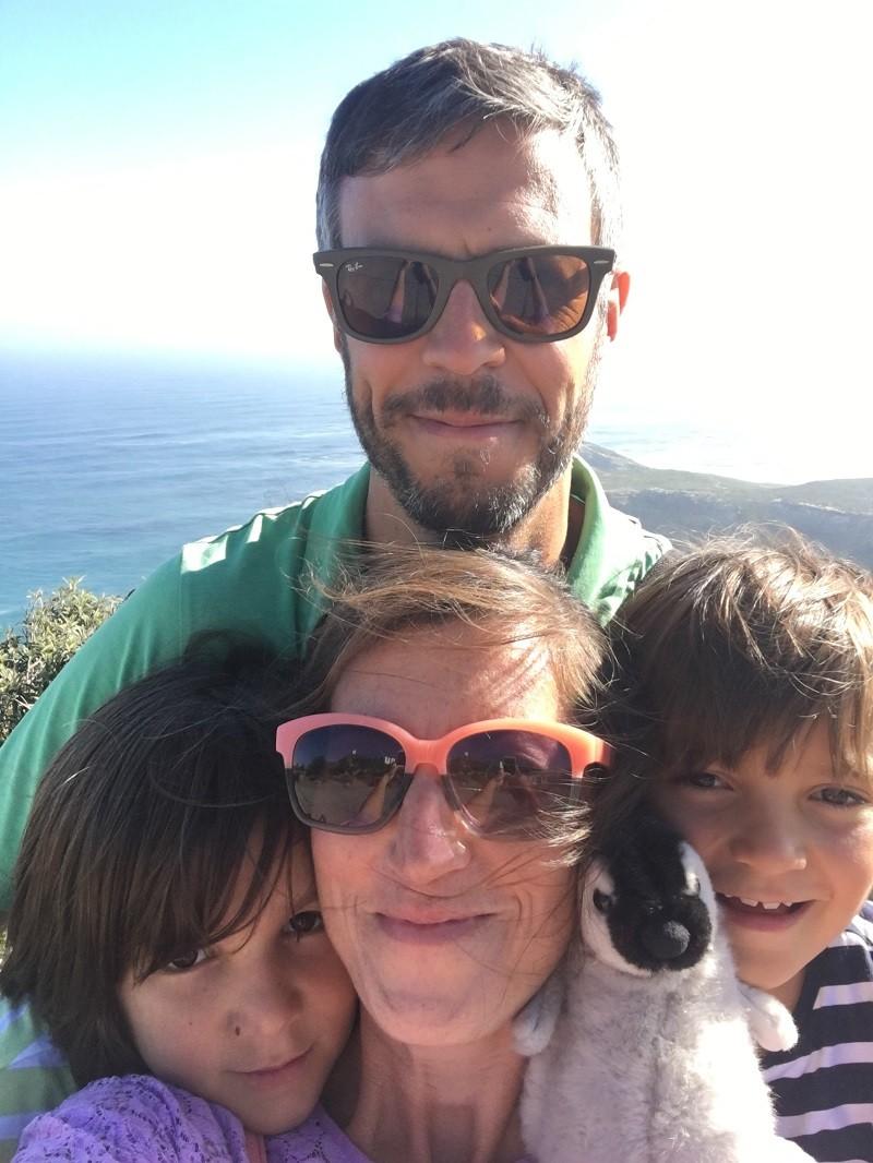 Zoe Folbigg z mężem i dwoma synami