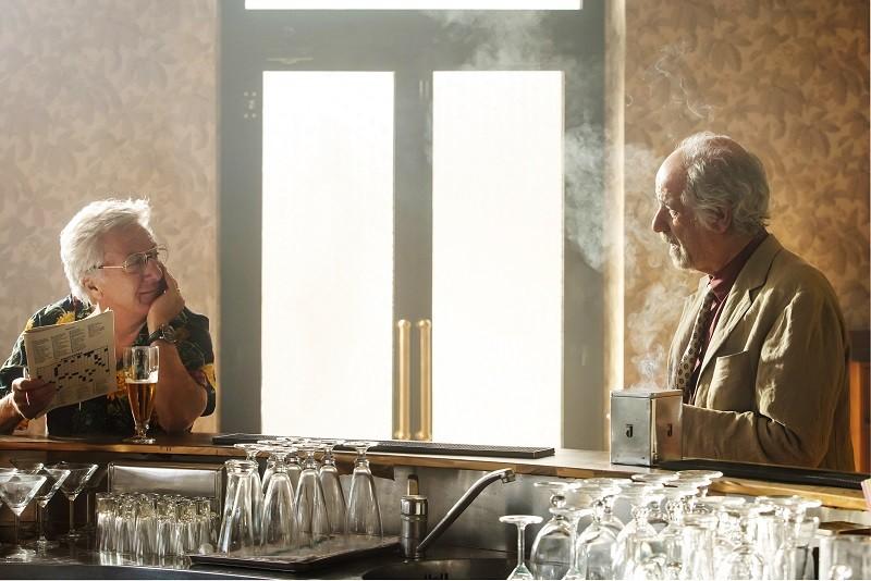 Kadr z filmu W labiryncie, Dustin Hoffman