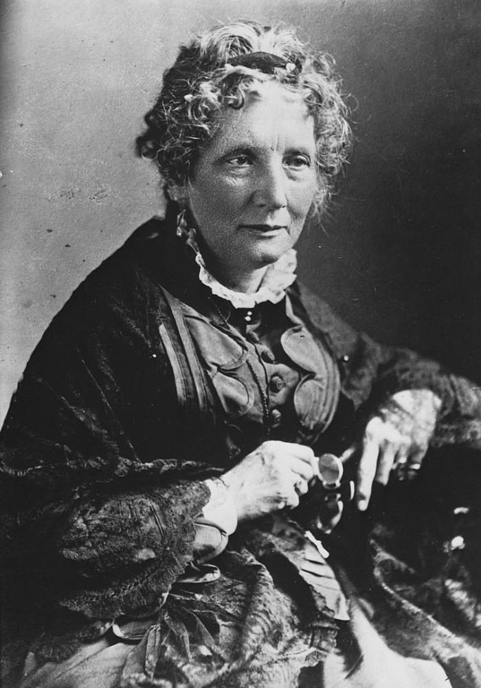 Harriet Beecher Stowe autorka Chaty Wuja Toma