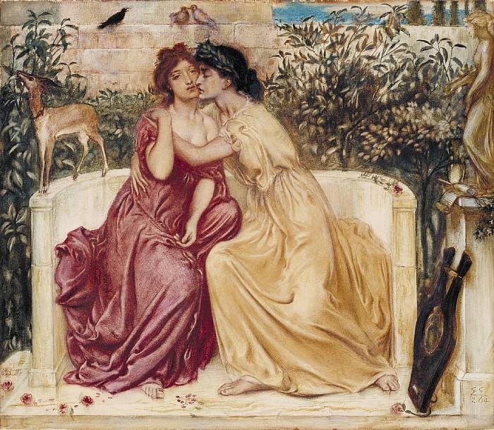 Simeon Solomon, Safona i Erina