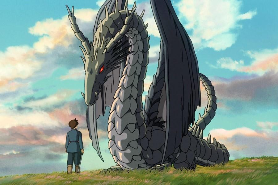 """Kadr z filmu """"Opowieści z Ziemiomorza"""" studia Ghibli"""