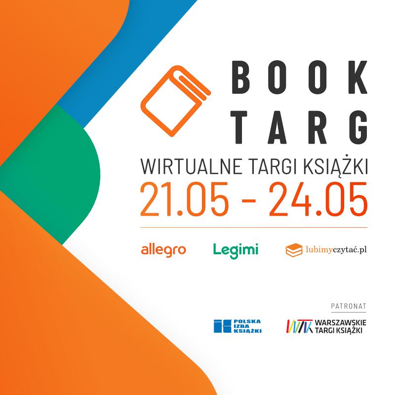 Baner wirtualnych targów książki BookTarg