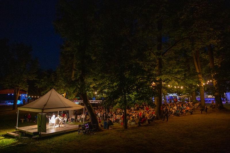 Scena Festiwalu Stolica Języka Polskiego