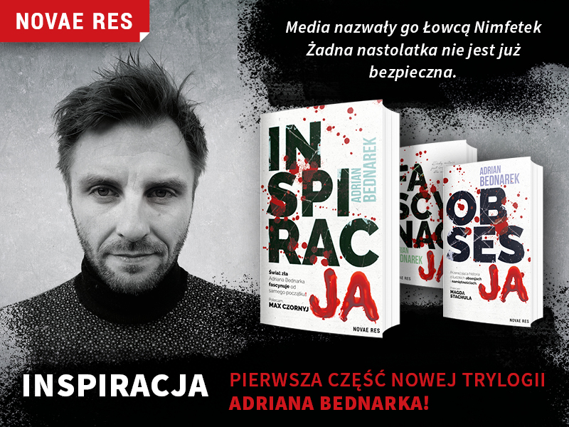 Adrian Bednarek i nowa książka pt.