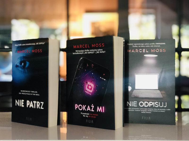 Marcel Moss - książki