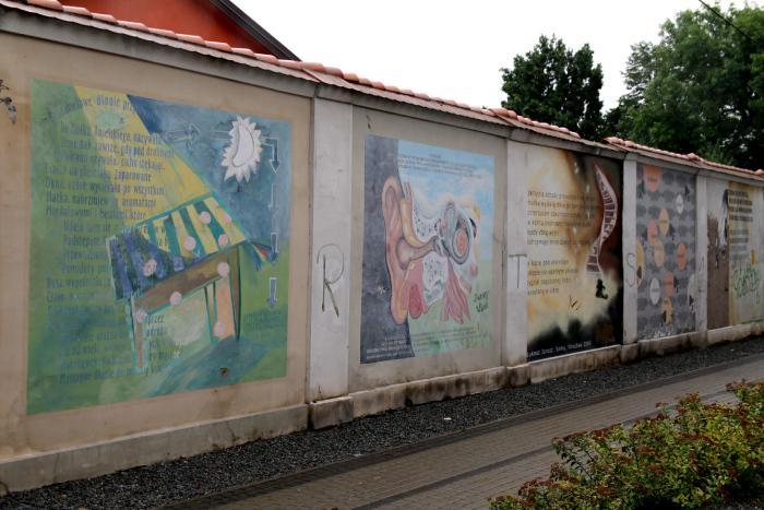 Książkowy mural