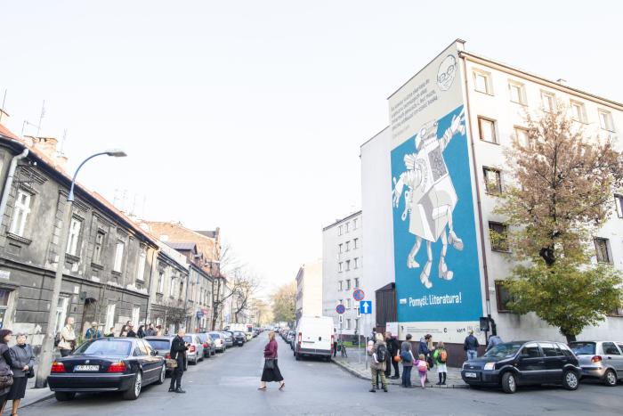 Stanisław Lem mural