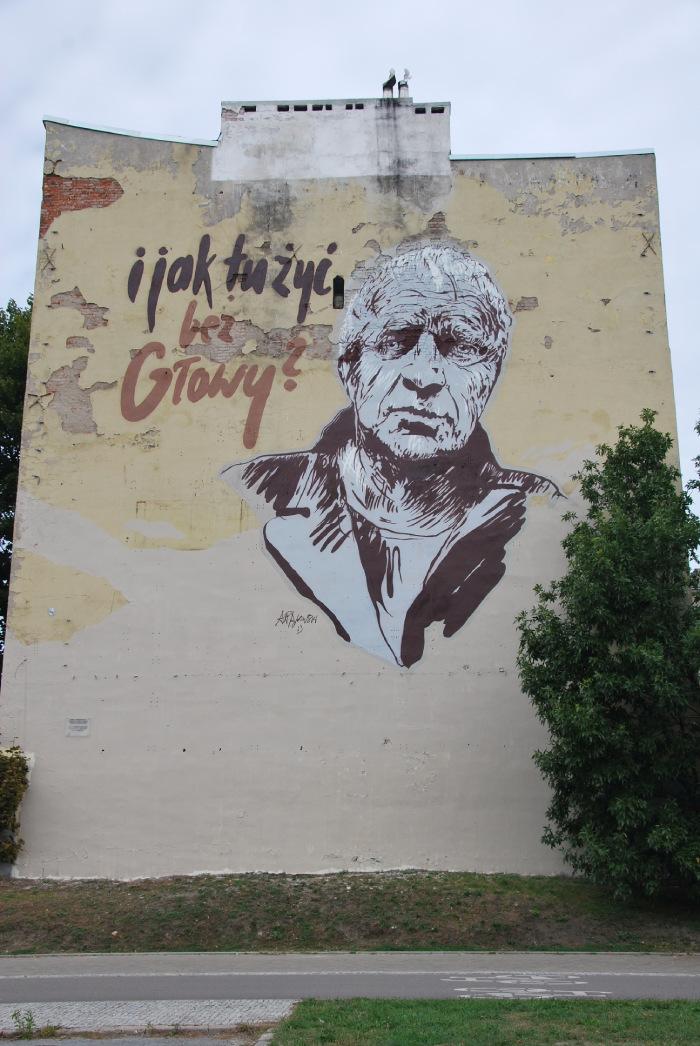 Książkowy mural w Polsce
