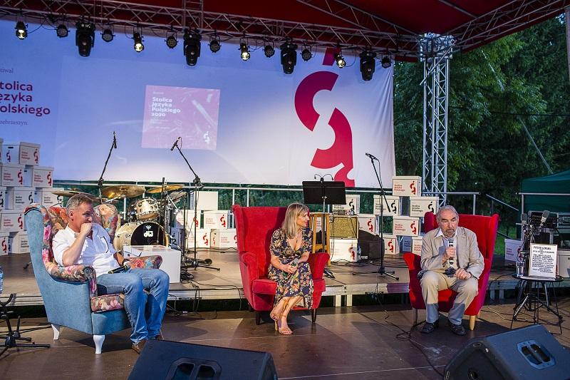 Prof. Janusz Degler na scenie Festiwalu Stolica Języka Polskiego