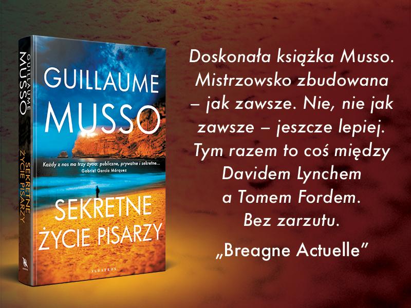 Sekretne życie pisarzy Guillaume Musso