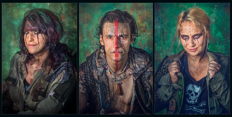 Portrety autorów projektu Between Worlds