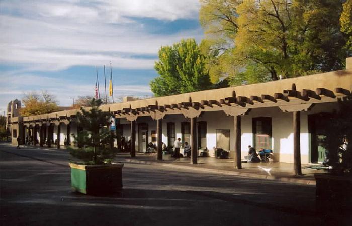 Pałac Gubernatorów w Santa Fe