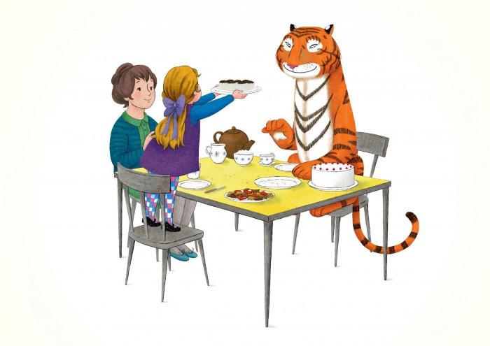 Tygrys, który przyszedł na herbatkę