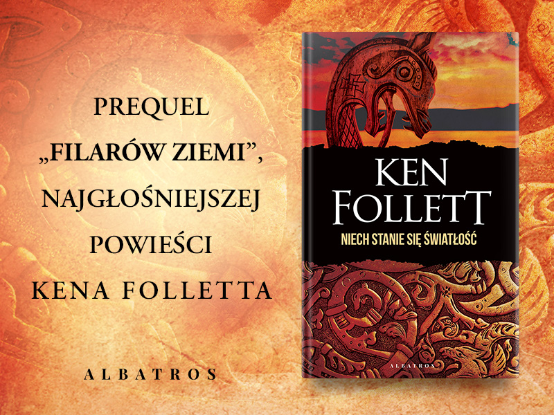Grafika z okładką książki Niech stanie się światłość Kena Folletta