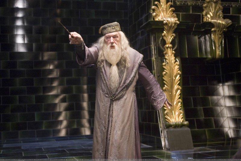 Michael Gambon jako Albus Dumbledore