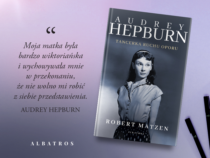 Cytat z biografii Audrey Hepburn