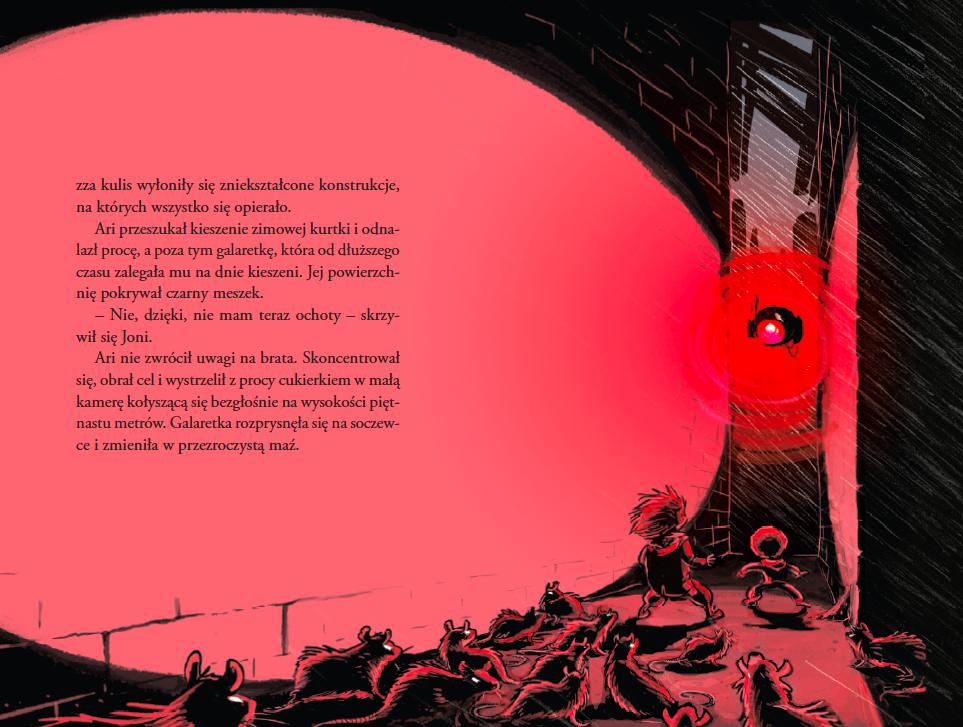 Wnętrze książki z cyklu Kepler 62