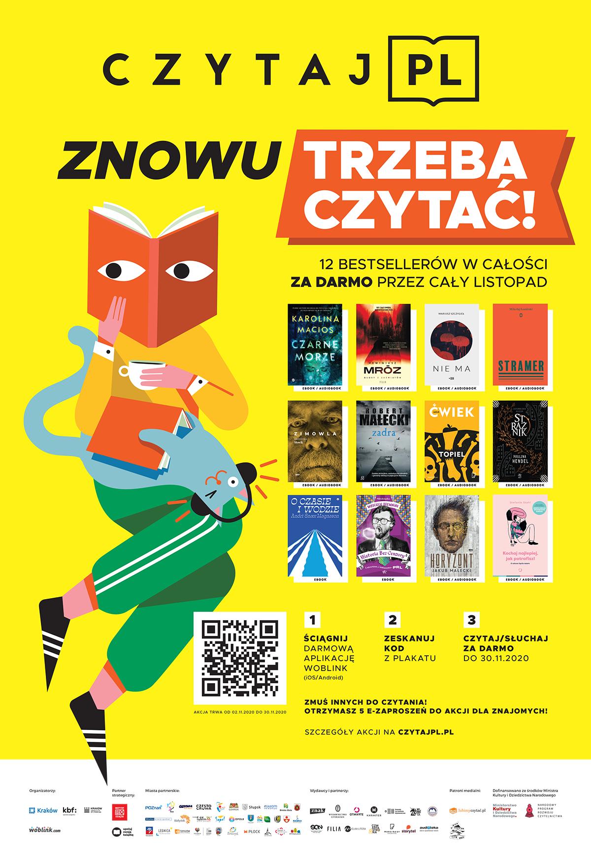 Plakat akcji Czytaj PL