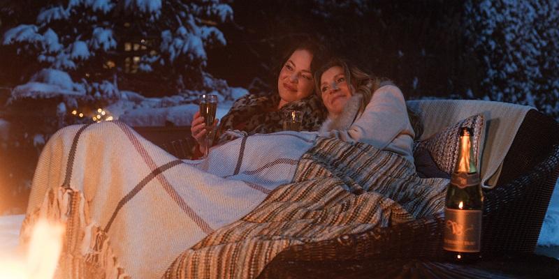 Kadr z serialu Firefly Lane, Katherine Heigl i Sarah Chalke