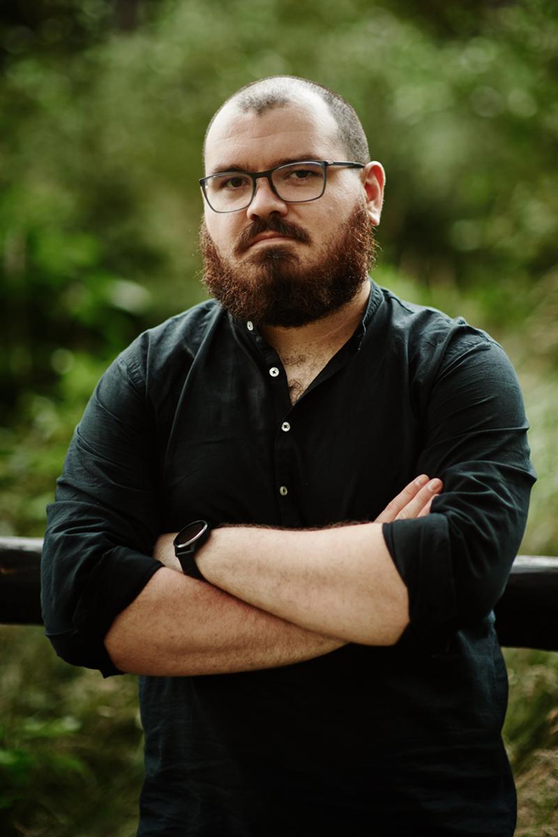 Jakub Bielawski, autor powieści Dunkel