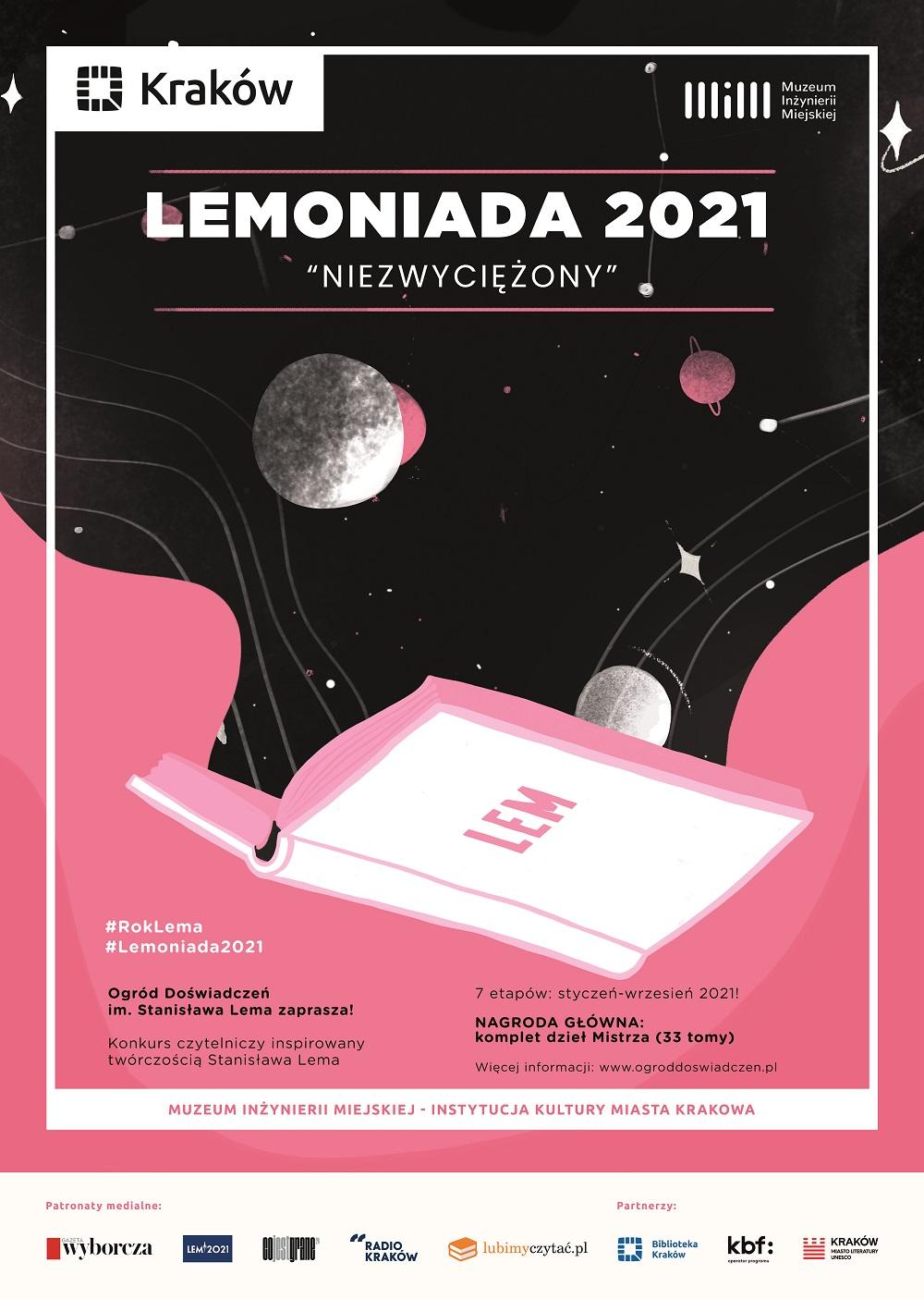 Plakat konkursu Lemoniada