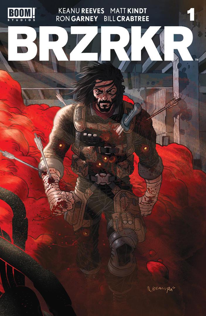 BRZRKR Keanu Reeves komiks