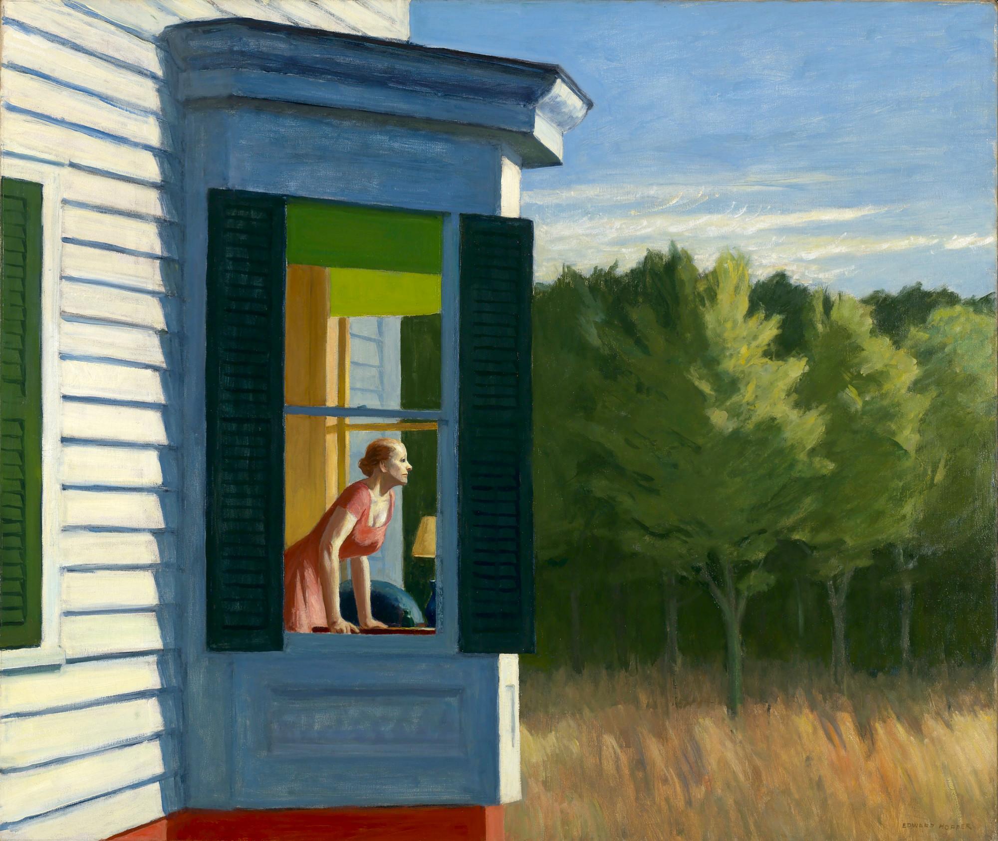 Cape Cod Morning Edward Hopper