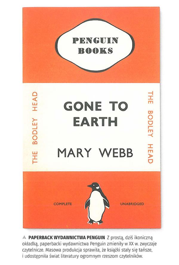 Okładka książki z charakterystycznym logiem wydawnictwa Penguin