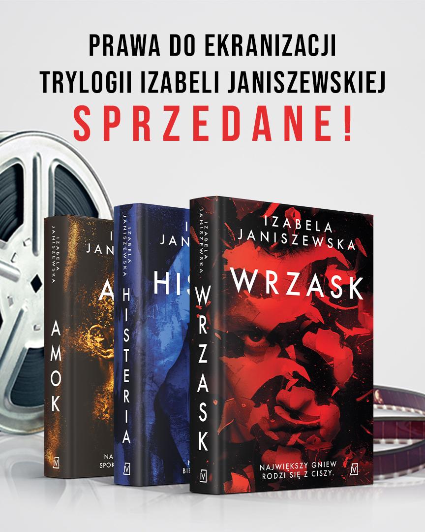 Izabela Janiszewska Wrzask ekranizacja